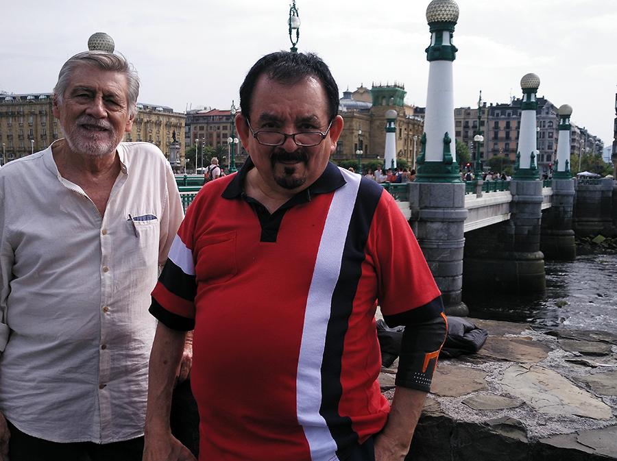 Eduardo Espinoza y Ricardo Miranda